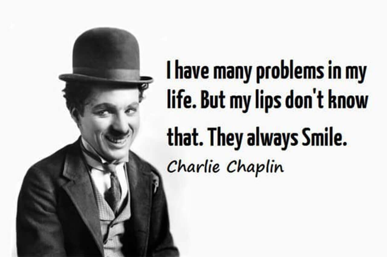 Charlie Chaplin Sorriso