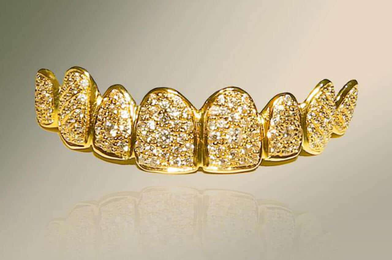 Grillz Oro Diamanti