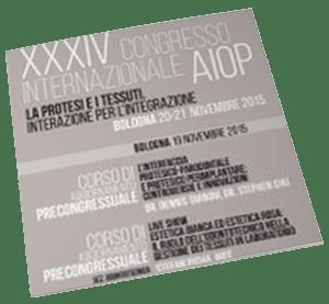Dr Fabio Cozzolino Sul Palco Del 34 Congresso Internazionale Aiop