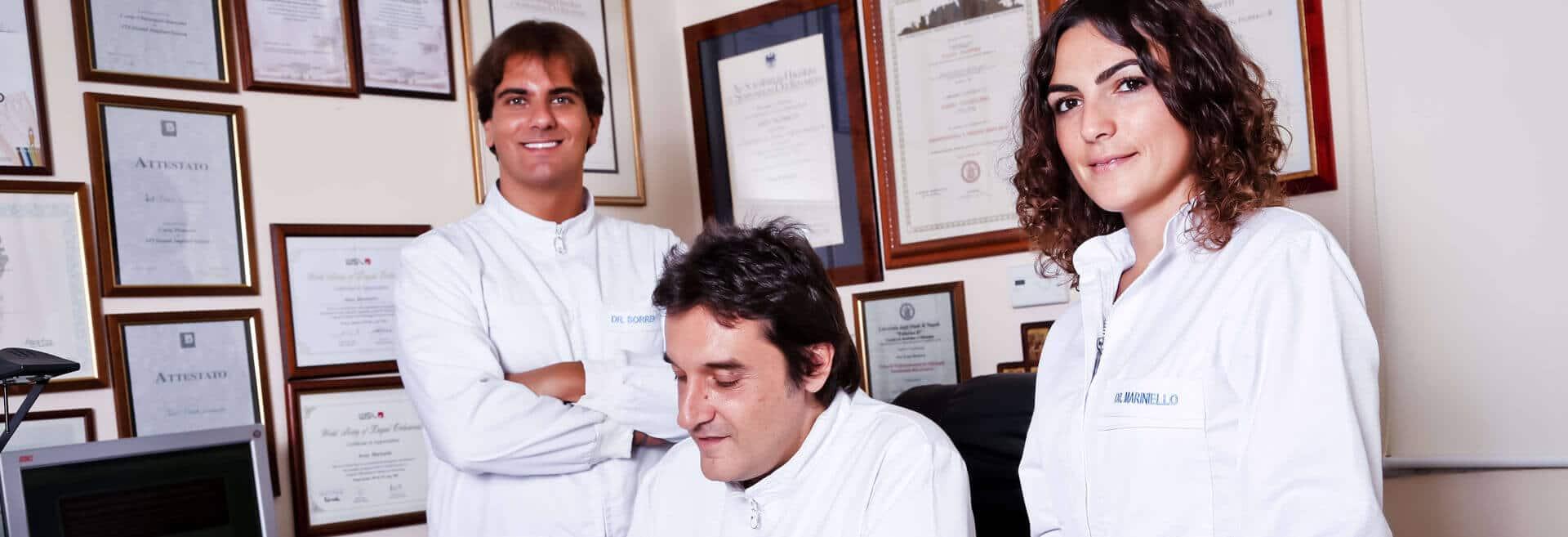 Fabio Cozzolino, Anna Mariniello e Roberto Sorrentino