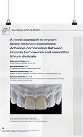 INTERNATIONAL JOURNAL OF ESTHETIC DENTISTRY
