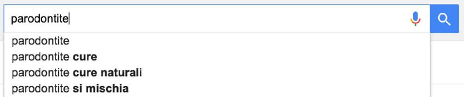 parodontite google