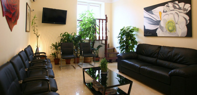 Sala Attesa Studio Dentistico Cozzolino