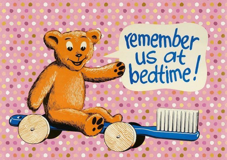 pulizia dei denti nei bambini
